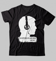 Camiseta 13 reasons why