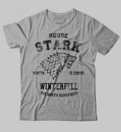 Camiseta Casa Stark