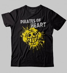 Camiseta Pirates of Heart