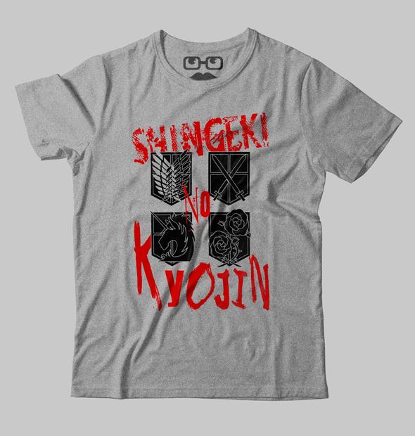 6c457bc7b Camiseta Shingeki no Kyojin - Véi Nerd