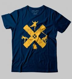 Camiseta X-Men Blue