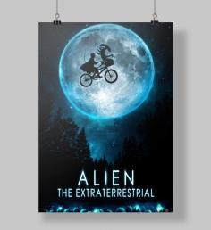 Poster Alien Lua