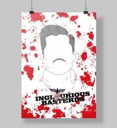 Poster Bastardos inglórios