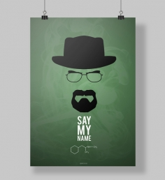 Poster Walter White