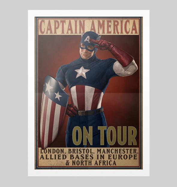 Poster Capitão America