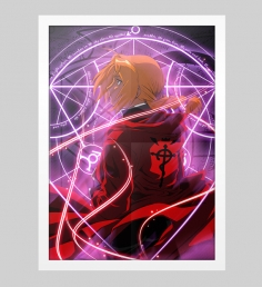 Poster Fullmetal