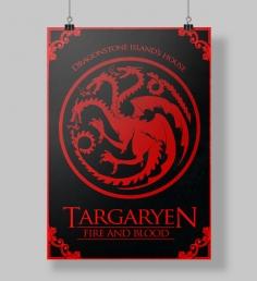 Poster Targaryen