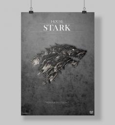 Poster House Stark