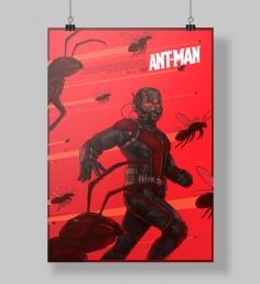 Poster Homem Formiga