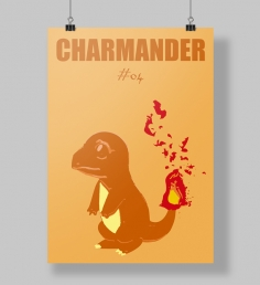 Poster Charmander